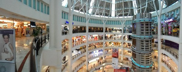 Holidays in Malaysia - Shopping Mall in Malaysia