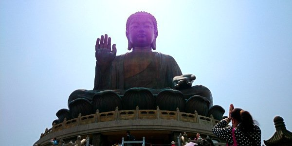 Things To Do In Hong Kong - Big Buddha Blesses Everyone