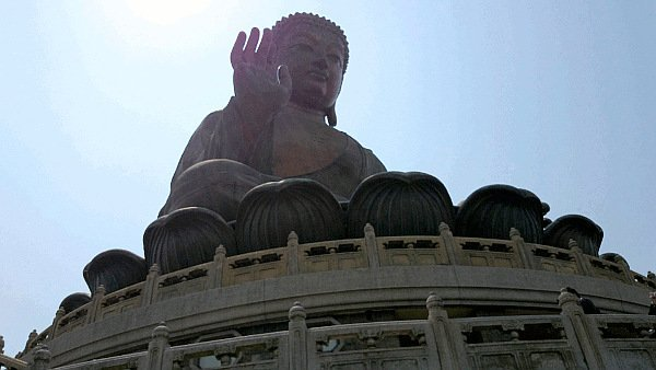 What To See In Hong Kong - Big Buddha - view from another angle