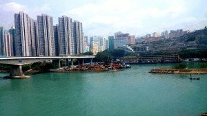 What To See In Hong Kong - View from MTR to Lantau Island