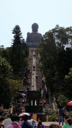 Things To Do In Hong Kong - 268 Steps to Tian Tan Buddha