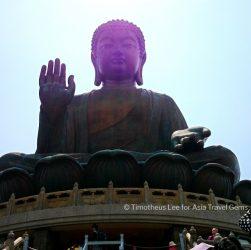 What To See In Hong Kong - Big Buddha, also known as Tian Tan Buddha at Lantau Island