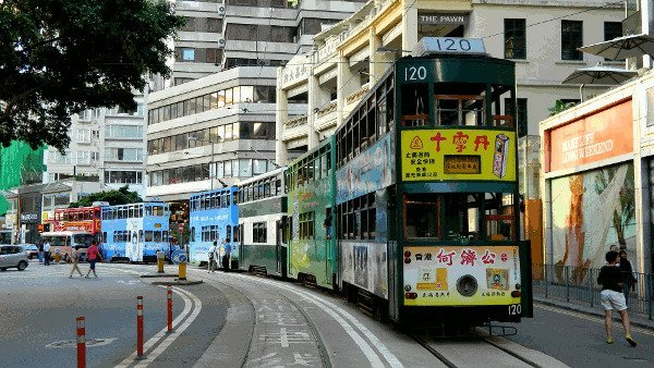 Best Places to Visit in Asia - Hong Kong's Trams