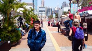Avenue Stars Hong Kong - Avenue of Comic Stars Walkway