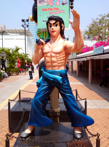 What To See in Hong Kong - Avenue Stars Hong Kong - Bruce Lee