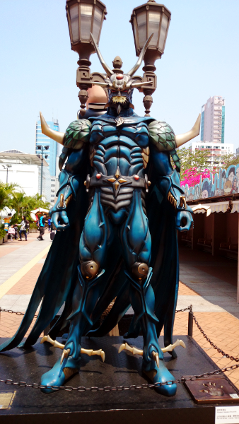 What To See in Hong Kong - Avenue Stars Hong Kong - Dragon Lord