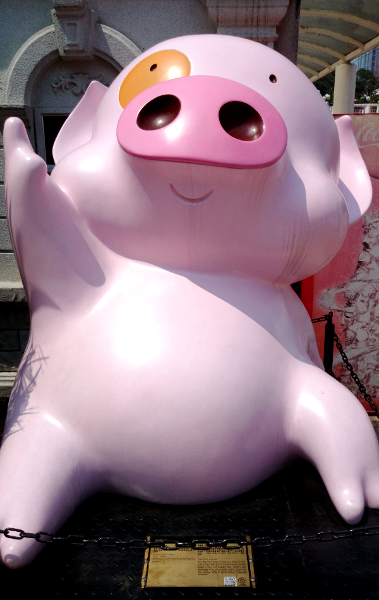 Things To Do in Hong Kong - Avenue Stars Hong Kong - McDull