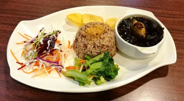 Best Places To Eat In Singapore - New Green Pasture Cafe - Ginger Vinegar Set
