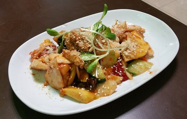 Best Places To Eat In Singapore - New Green Pasture Cafe - Rojak