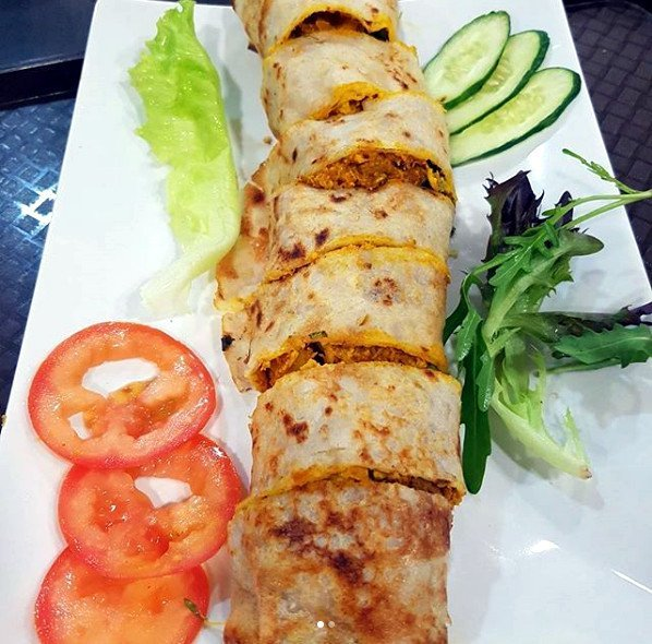 Best Places To Eat In Singapore - New Green Pasture Cafe - Sri Lanka Roll