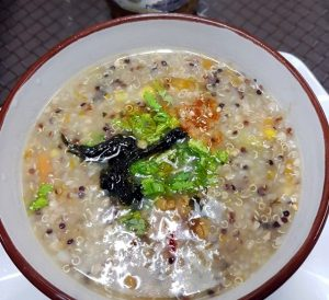 Best Places To Eat In Singapore - New Green Pasture Cafe - Quinoa with Buckwheat Porridge
