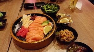 Best Places To Eat In Kuala Lumpur - Kinjuku SetiaWalk Mall Review - Sashimi