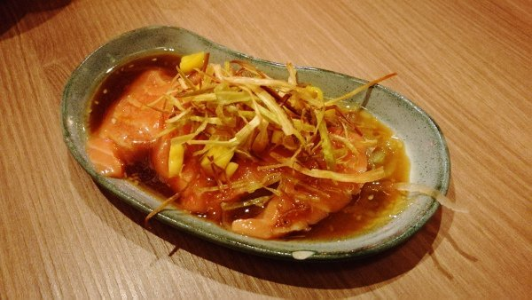 Best Places To Eat In Kuala Lumpur - Kinjuku SetiaWalk Mall Review - Salmon Carpaccio