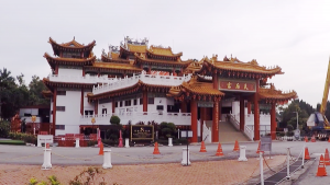 Things To Do In Kuala Lumpur - Entrance of Thean Hou Temple - Click on Image to Read More