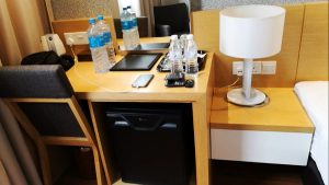 Ipoh Hotels Review - Hotel Excelsior Ipoh - Work Desk & Refrigerator