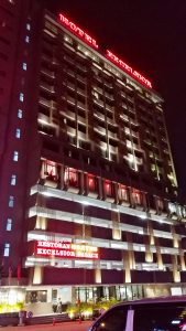Ipoh Hotels Review - Hotel Excelsior Ipoh - Front of Hotel - Click on Image to Read More