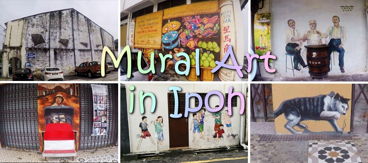 Things To Do In Ipoh - Mural Art - Click on Image to Read More