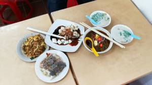 Lots of delicious Penang Food, besides the famous and popular Chendul