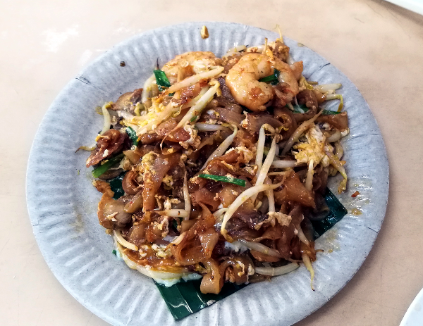 Another delicious Penang Food - Fried Kway Teow - Char Kway Teow