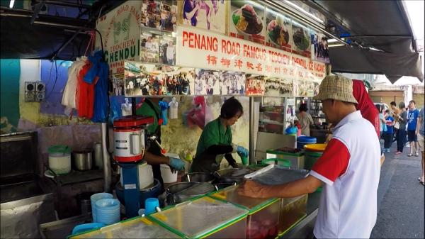 Penang Road Famous Teochew Chendul flagship stall still at Lebuh Keng Kwee