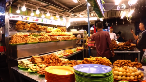 Famous Indian Rojak stall at Gurney Drive