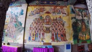 Beautiful Artwork on the walls of prayer halls
