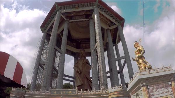 Giant statue of Kuan Yin, Goddess of Mercy