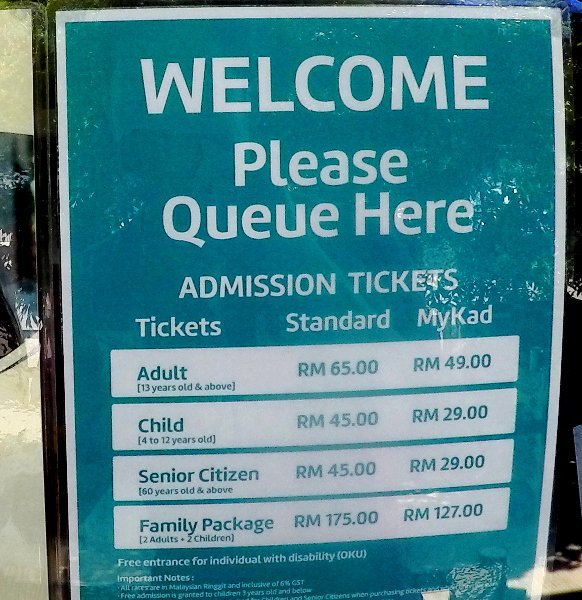 Entopia Entry Ticket Prices