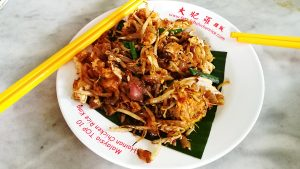 The famous Tiger Char Koay Teow from George Town, Penang