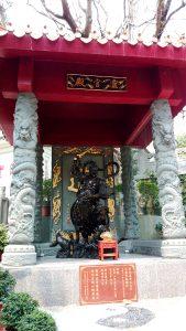 Guardian Deity at Entrance of Sik Sik Yuen Wong Tai Sin Temple