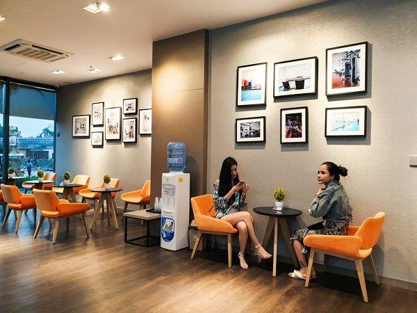 The Bridge Club Reception Area