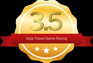 three and half stars rating