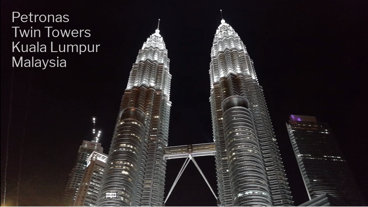 Best Places To Visit In Kuala Lumpur - Petronas Twin Towers - Click on Image to Read More