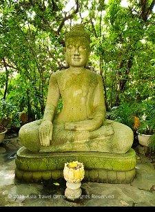 Buddha Image at Silver Pagoda - Phnom Penh, Cambodia