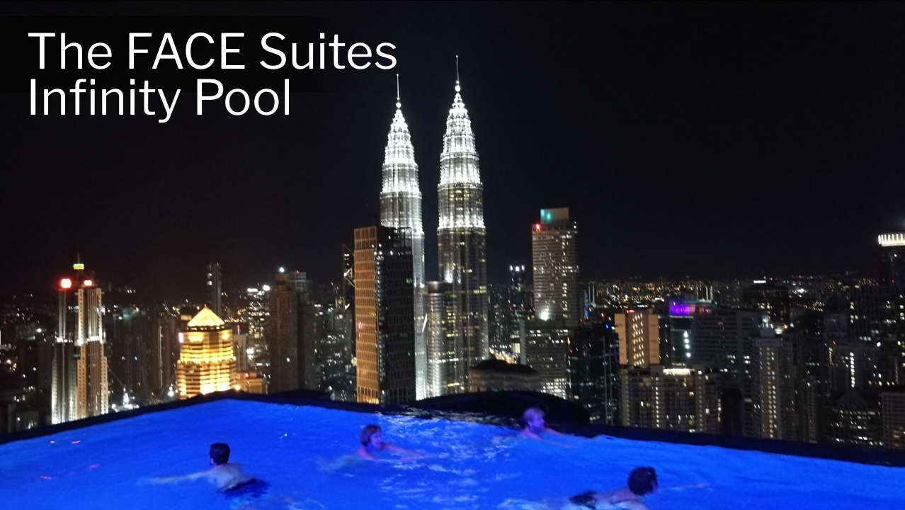 Kuala Lumpur Hotels - The FACE Suites - Infinity Pool - Click on Image to Read More