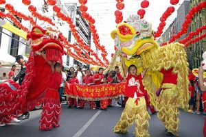 Lion Dance - Chinese New Year