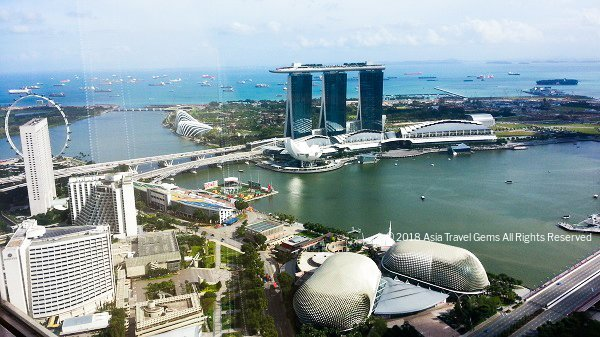 Marina Bay Sands and Esplanade