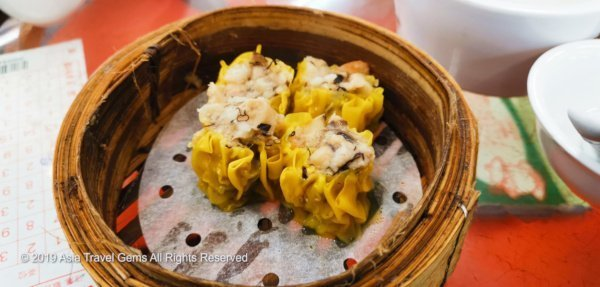 Hong Kong Food - Super Delicious Dim Sum known as Siu Mai (Pork Dumpling)