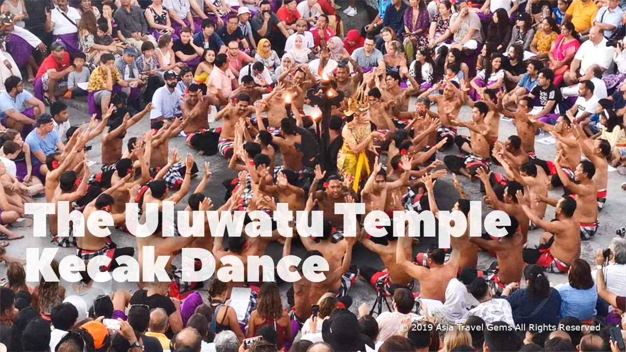 Best Places To Visit In Bali - The Uluwatu Temple Kecak Dance