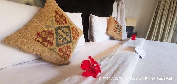 Comfortable Pillows and Mattress at One Bedroom Villa