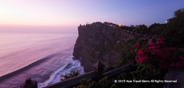 Enchanting Evening Scene at The Uluwatu Temple