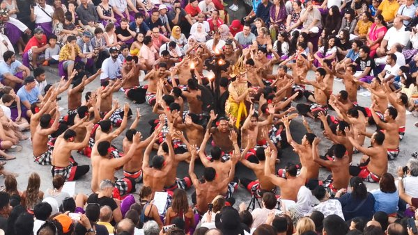 The Uluwatu Temple Kecak Dance