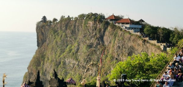 The Uluwatu Temple at The Edge of a Cliff