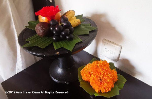Welcome Platter of Fruits