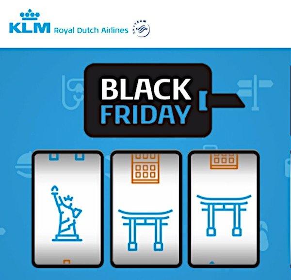 KLM Black Friday Deal 2019