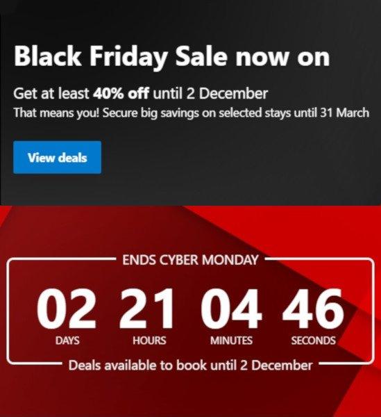Booking.com Black Friday Deal 2019
