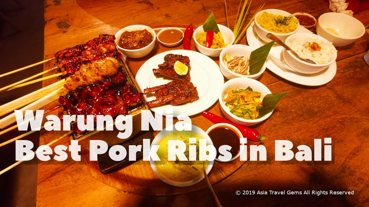 Best Places To Eat in Bali - Warung Nia - Best Pork Ribs in Bali